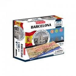 4D Puzzle Cityscape Time Barcelona