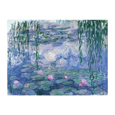 Puzzle 250 pièces - Monet Nymphéas et branches de saule