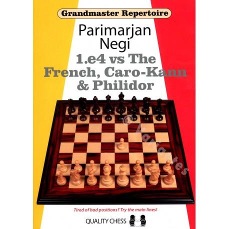 Negi - 1 e4 vs Th French, Caro-Kann & Philidor (Hard cover)