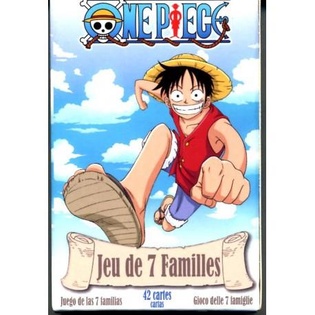 Jeu de 7 familles - One Piece