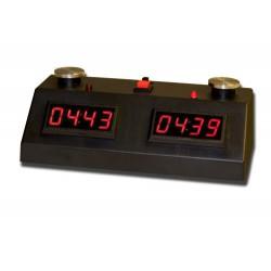 Pendule ZmartFun II Tactile noire à leds rouges