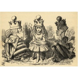Poster - Manners and Lessons by Lewis Carroll