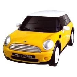 Casse-tête Mini Cooper jaune