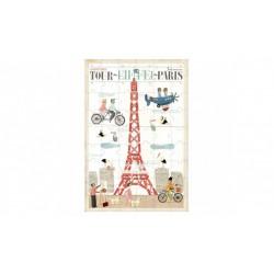 Puzzle 54 pièces - Tour Eiffel Paris