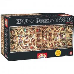 Puzzle 18000 pièces - Chapelle Sixtine