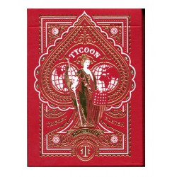 Cartes Bicycle Tycon Rouge