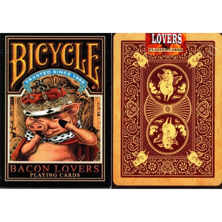 Cartes Bicycle Bacon lovers