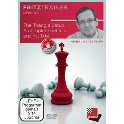 DVD - Krasenkov - The Triangel Setup. A complete defense against 1.d4