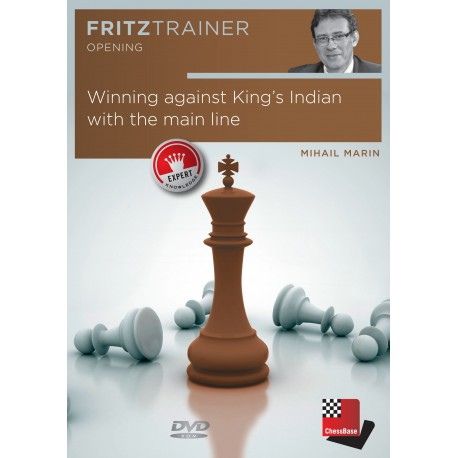 DVD - Marin - Winning against King's Indian with the main line