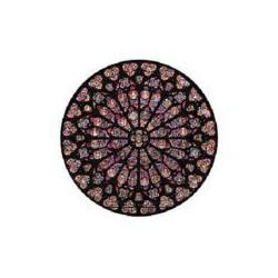 Puzzle 80 pièces - Rosace Notre Dame - en Bois