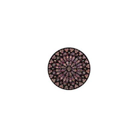 Puzzle 80 pièces - Rosace Notre Dame
