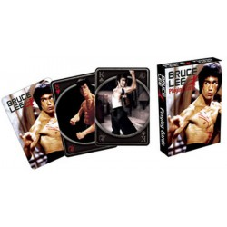 Cartes à jouer Bruce Lee