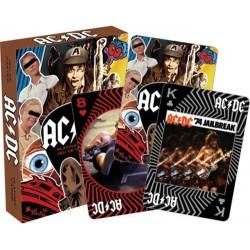 Cartes à jouer AC/DC