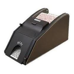 Batteur de cartes + sabot façon cuir