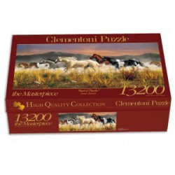 Puzzle 13200 pièces Chevaux (band of thunder)