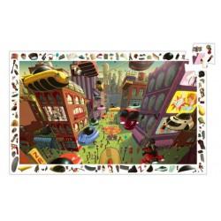 Puzzle 200 pièces - Ville du futur
