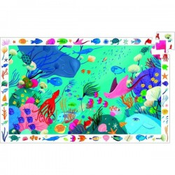 Puzzle 54 pièces - Aquatique