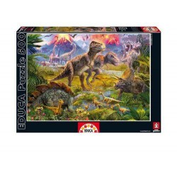 Puzzle 500 pièces - Dinosaures