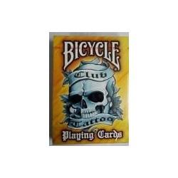Cartes Bicycle Club Tattoo orange