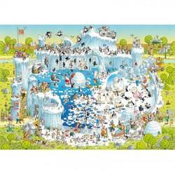 Puzzle 1000 pièces - Polar Habitat - Degano