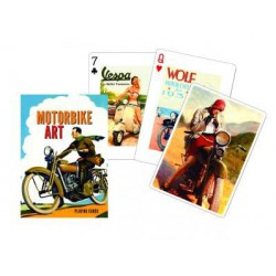 Cartes à jouer Motorbike art