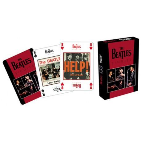 Cartes à jouer The Beatles - Singles