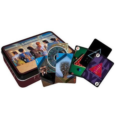 Cartes à jouer Pink Floyd - boite métal