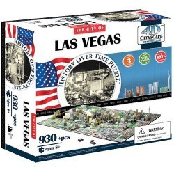Puzzle 4D 930 pièces - Las Vegas
