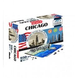 Puzzle 4D 950 pièces - Chicago