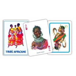Cartes à jouer Tribu Africaine