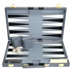 Backgammon gris 38 cm