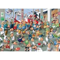Puzzle 1000 pièces - Aux Urgences
