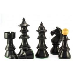 Pièces d'Echecs Austrian Black - Taille 5.5