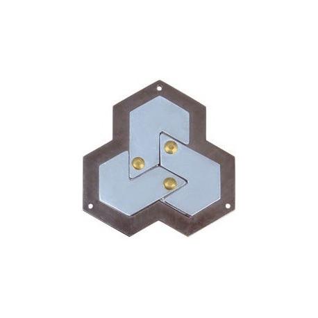 Casse-tête Huzzle Hexagon **** - Hanayama Cast
