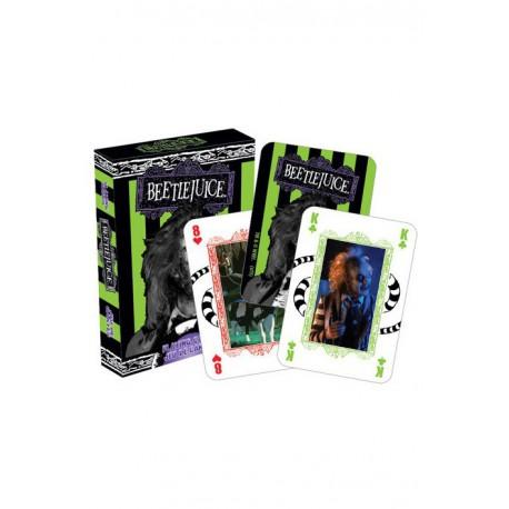 Cartes à jouer Beetlejuice