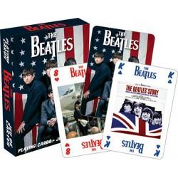 Cartes à jouer The Beatles version US