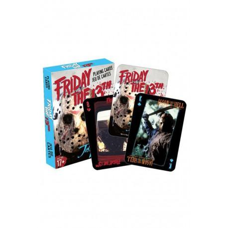 Cartes à jouer Friday the 13th