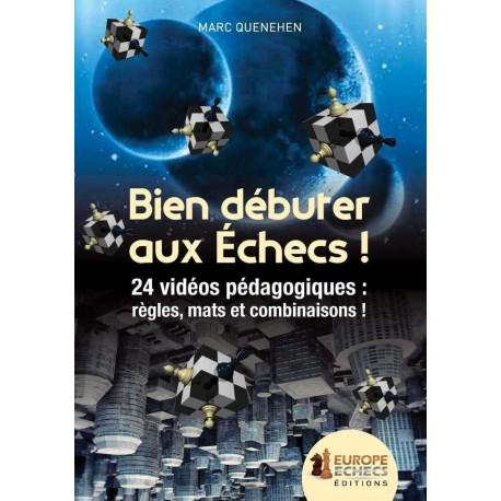 DVD Quenehen - Bien débuter aux échecs