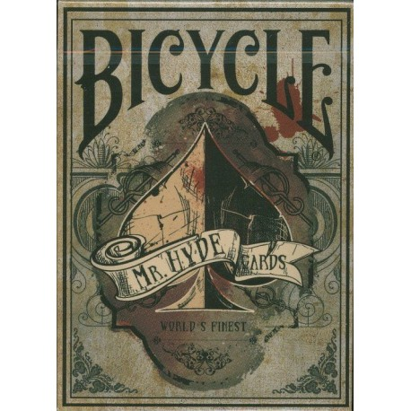 Cartes Bicycle Mister Hyde