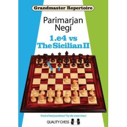 Negi - GM 1.e4 vs Sicilian II (Hard cover)