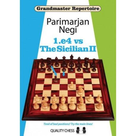 Negi - GM 1.e4 vs Sicilian II (Hard cover)