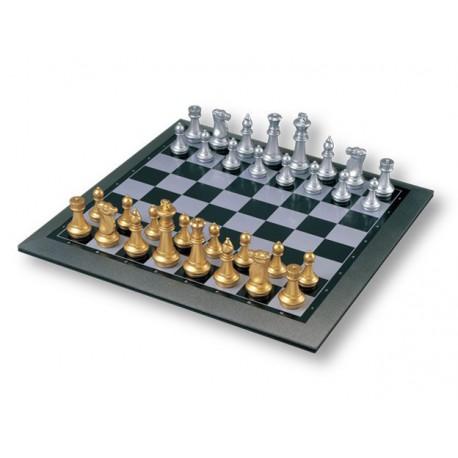 Dames - Backgammon - Echecs Or argent