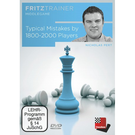 Pert - DVD Typical Mistakes by 1800-2000 Players