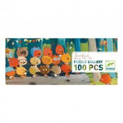 Puzzle 100 pièces - Forest friends