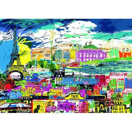 Puzzle 1000 pièces - I Love Paris !