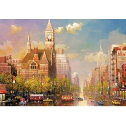Puzzle 6000 pièces - New York afternoon