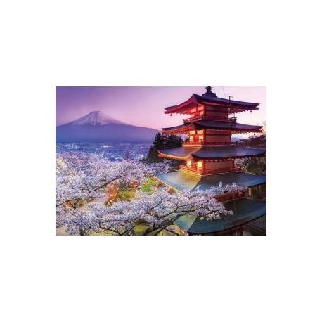Puzzle 2000 pièces - Mont Fuji, Japon