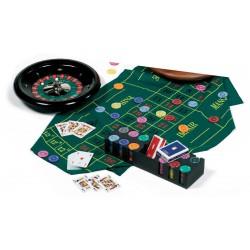Set Casino complet avec Roulette grande taille