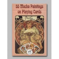 Cartes à jouer Mucha