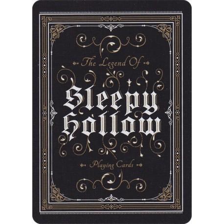 Cartes à jouer Sleepy Hollow
